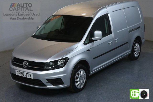 2018 68 VOLKSWAGEN CADDY MAXI 1.4 C20 TSI TRENDLINE 123 BHP LWB EURO 6 ENGINE PETROL AIR CON, REAR PARKING SENSORS