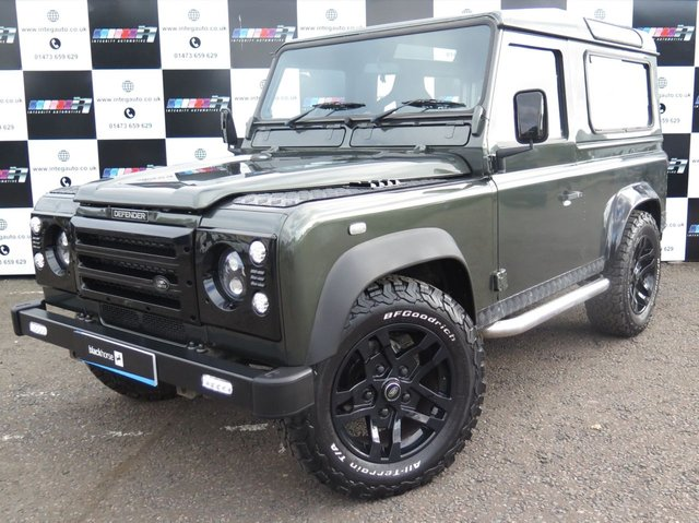 2006 06 LAND ROVER DEFENDER 2.5 90 TD5 COUNTY STATION WAGON 3d 120 BHP