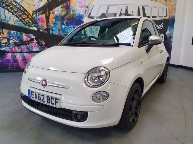 USED 2012 62 FIAT 500 1.2 Street 3dr