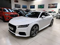 2016 AUDI TT 1.8 TFSI S LINE 2d 178 BHP COUPE VIRTUAL COCKPIT £17495.00