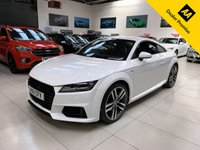 USED 2016 16 AUDI TT 1.8 TFSI S LINE 2d 178 BHP COUPE VIRTUAL COCKPIT