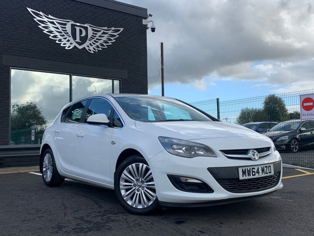 USED 2014 64 VAUXHALL ASTRA 1.4 EXCITE 5d 98 BHP AA WARRANTY,  MOT AND SERVICE INCLUDED