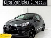 2014 CITROEN DS3 1.6 DSPORT PLUS 3d 155 BHP £6491.00