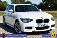 USED 2015 15 BMW 1 SERIES 2.0 125D M SPORT 5d 215 BHP