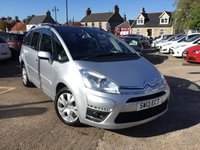 USED 2013 13 CITROEN C4 GRAND PICASSO 1.6 PLATINUM HDI 5d 110 BHP 1 LADY OWNER FROM NEW LOW MILEAGE EXAMPLE IN SUPERB CONDITION