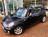USED 2013 13 MINI CONVERTIBLE 1.6 COOPER 2d AUTO 122 BHP Great Spec - Chili Pack, Bluetooth, Climate Control, Cruise Control, Upgraded alloy wheels, a Multi-function Steering wheel and Half Leather Upholstery