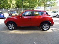 USED 2016 66 NISSAN JUKE 1.6 VISIA 5d 94 BHP * 1 KEEPER FROM NEW * FULL SERVICE HISTORY * BLUETOOTH *