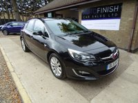 USED 2015 15 VAUXHALL ASTRA 2.0 ELITE CDTI S/S 5d 163 BHP * FULL LEATHER INTERIOR * HEATED SEATS * £30 ROAD TAX * 2 KEYS * SERVICE HISTORY *