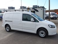 2014 VOLKSWAGEN CADDY MAXI 1.6 C20 TDI STARTLINE BLUEMOTION TECHNOLOGY 101 BHP £6995.00
