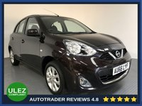 USED 2016 66 NISSAN MICRA 1.2 ACENTA 5d AUTO 79 BHP FULL NISSAN HISTORY - 1 OWNER - SAT NAV - REAR SENSORS - AIR CON - BLUETOOTH - CRUISE CONTROL - CD