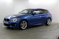 2015 BMW 1 SERIES 2.0 118D M SPORT 5d AUTO 147 BHP £13980.00