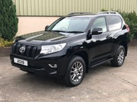 2019 TOYOTA LAND CRUISER 2.8 UTILITY COMMERCIAL 1d 175 BHP £26950.00