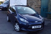 2011 FORD FIESTA 1.2 EDGE 3d 81 BHP £3995.00