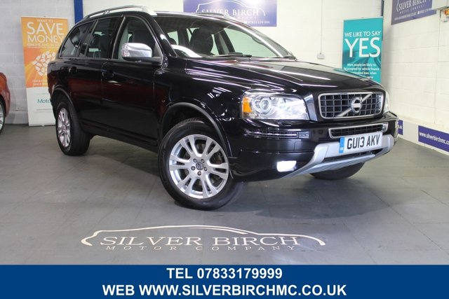 USED 2013 13 VOLVO XC90 2.4 D5 SE LUX AWD 5d AUTO 200 BHP Rear entertainment, Navigation