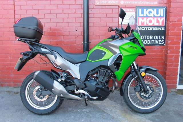 USED 2017 67 KAWASAKI KLE 300 CHF Versys A Cracking Versatile Adventure Bike. A2 Compliant.