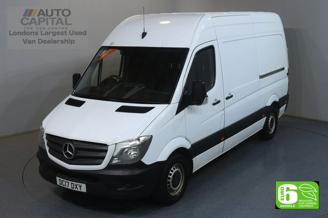 2017 17 MERCEDES-BENZ SPRINTER 2.1 314CDI 140 BHP MWB EURO 6 ENGINE ONE OWNER, FULL SERVICE HISTORY, REAR SHELVES FITTED
