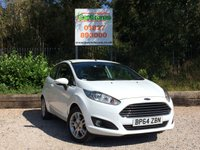 USED 2015 64 FORD FIESTA 1.25 ZETEC 3dr £30 Tax, Air Conditioning