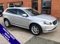 USED 2016 65 VOLVO XC60 2.4 D5 SE LUX NAV AWD 5DOOR AUTO 217 BHP DAB Radio   :   Satellite Navigation   :   USB & AUX Sockets   :   Car Hotspot / WiFi      Cruise Control   :   Bluetooth Connectivity   :   Heated Front Seats   :   Electric Driver Seat      Automatic Tailgate   :   Rear Parking Sensors   :   2 Keys   :   Service History