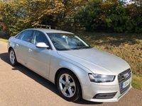 2014 AUDI A4 2.0 TDI ULTRA SE TECHNIK 4d 161 BHP £6995.00