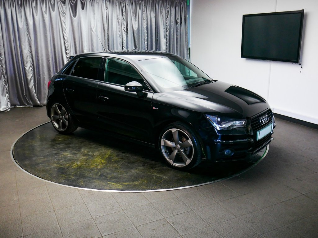 USED 2014 14 AUDI A1 1.4 SPORTBACK TFSI BLACK EDITION 5d 138 BHP £0 DEPOSIT FINANCE AVAILABLE, AIR CONDITIONING, AUTOMATIC HEADLIGHTS, BLUETOOTH CONNECTIVITY, CLIMATE CONTROL, DAYTIME RUNNING LIGHTS, FULL S LINE LEATHER UPHOLSTERY, HEATED DOOR MIRRORS, START/STOP SYSTEM, STEERING WHEEL CONTROLS, TRIP COMPUTER, VOICE CONTROLS
