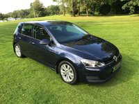 USED 2013 13 VOLKSWAGEN GOLF 2.0 SE TDI BLUEMOTION TECHNOLOGY 5d 148 BHP **EXCELLENT FINANCE PACKAGES**FULL SERVICE HISTORY**TIMING BELT KIT REPLACED**