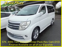 USED 2005 54 NISSAN ELGRAND Rider Autec 3.5 4WD. 8 Seats, Twin Sunroof. +57K+4WD+TWIN SUNROOF+BOSE+