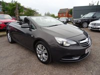 USED 2014 64 VAUXHALL CASCADA 2.0 SE CDTI S/S 2d 165 BHP LAST SERVICED AT 63,016 MILES