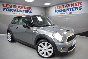2008 MINI HATCH COOPER 1.6 COOPER S 3d 172 BHP £3999.00