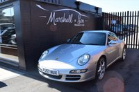 USED 2007 57 PORSCHE 911 MK 997 3.8 CARRERA 4 TIPTRONIC S 2d AUTO 350 BHP WIDEBODY STUNNING CONDITION - BIG SPEC - 4S WIDEBODY - 6 STAMPS TO 53600 MILES - LEATHER - NAV - 19 INCH ALLOYS - HEATED SEATS - BOSE - R/PDC
