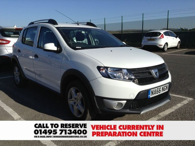 View our 2016 66 DACIA SANDERO 1.5 STEPWAY AMBIANCE DCI 5d 90 BHP