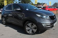 USED 2015 15 KIA SPORTAGE 2.0 CRDI KX-3 5d 134 BHP FULL SERVICE HISTORY - 2 OWNERS FROM NEW - EXCELLENT SPECIFICATION