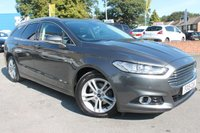USED 2015 15 FORD MONDEO 2.0 TITANIUM TDCI 5d 177 BHP FULL SERVICE HISTORY - ONLY ONE OWNER FROM NEW - BEAUTIFUL EXAMPLE