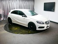 USED 2014 14 MERCEDES-BENZ A CLASS 1.5 A180 CDI BLUEEFFICIENCY AMG SPORT 5d AUTO 109 BHP £0 DEPOSIT FINANCE AVAILABLE, AIR CONDITIONING, AUTOMATIC HEADLIGHTS, BLUETOOTH CONNECTIVITY, CLIMATE CONTROL, CRUISE CONTROL, DAYTIME RUNNING LIGHTS, ELECTRONIC PARKING BRAKE, GEARSHIFT PADDLES, START/STOP SYSTEM, STEERING WHEEL CONTROLS, TRIP COMPUTER, USB INPUT
