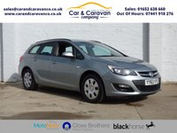 USED 2019 63 VAUXHALL ASTRA 1.3 CDTi ecoFLEX 16v Design Sport Tourer (s/s) 5dr Vauxhall Dealer History AirCon Buy Now, Pay Later Finance!