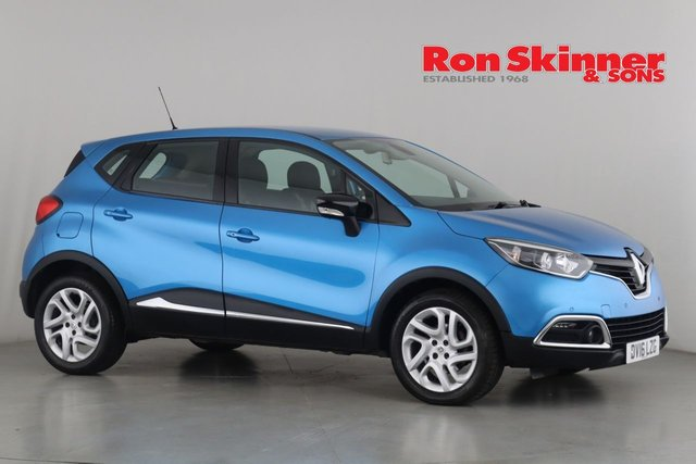 View our 2016 16 RENAULT CAPTUR 1.5 DYNAMIQUE NAV DCI 5d 90 BHP
