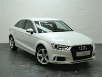 USED 2017 66 AUDI A3 1.6 TDI SPORT 4d AUTO 109 BHP FACE LIFT MODEL + AUDI HISTORY + 1 OWNER + SAT NAV + HEATED SEATS