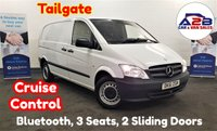 USED 2011 61 MERCEDES-BENZ VITO 2.1 113 CDI 136 BHP with Cruise Control, Bluetooth, Tailgate Rear Door, 2 Sliding Doors, 3 Seats and more ** Drive Away Today** Over The Phone Low Rate Finance Available, Just Call us on 01709 866668 **