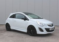 2012 VAUXHALL CORSA 1.2 LIMITED EDITION 3d 83 BHP £3495.00