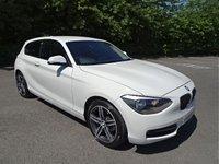2013 BMW 1 SERIES 2.0 116D SPORT 3d 114 BHP £6990.00