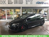 USED 2016 16 HONDA CIVIC 2.0 I-VTEC TYPE R GT 5d 306 BHP GLEAMING BLACK HONDA CIVIC TYPE R GT