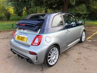 USED 2018 18 ABARTH 695C 1.4 695C RIVALE 3d 177 BHP ..STUNNING CONVERTIBLE...