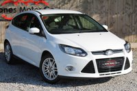 USED 2012 12 FORD FOCUS 1.0 TITANIUM 5d 124 BHP 1 LADY OWNER, FULL FORD SERVICE HISTORY.