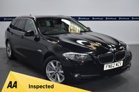 USED 2012 62 BMW 5 SERIES 2.0 520D SE TOURING 5d AUTO 180 BHP (BLUETOOTH PHONE AND MEDIA)