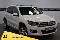 USED 2013 63 VOLKSWAGEN TIGUAN 2.0 MATCH TDI BLUEMOTION TECHNOLOGY 4MOTION 5d 140 BHP (ONLY 35000 MILES)