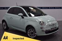 USED 2014 64 FIAT 500 1.2 LOUNGE 3d 70 BHP (BLUETOOTH PHONE AND MEDIA)