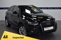 USED 2013 62 AUDI Q3 2.0 TDI SE 5d 140 BHP (PRIVACY GLASS - PARKING SENSORS)