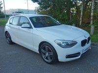 2015 BMW 1 SERIES 2.0 116D SPORT 5d 114 BHP £8490.00