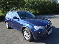 2013 BMW X3 2.0 XDRIVE20D SE 5d AUTO 181 BHP £10490.00