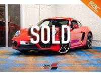 2015 PORSCHE CAYMAN 2.7 24V PDK 2d AUTO 275 BHP £32485.00