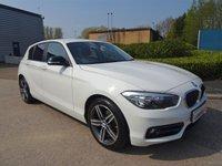 2016 BMW 1 SERIES 2.0 118D SPORT 5d 147 BHP £10290.00